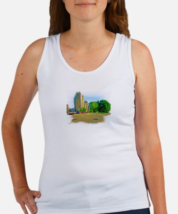Air Brushed Painting of Lincoln Avenue Tank Top