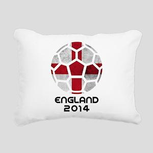 England World Cup 2014 Rectangular Canvas Pillow