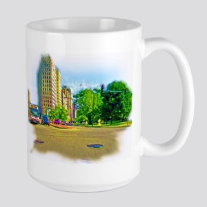 Air Brushed Painting of Lincoln Avenue Mugs
