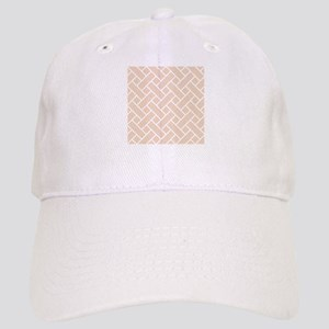 Peach Basket Weave Baseball Cap