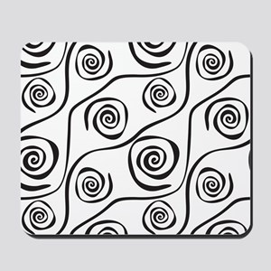 Spirals Mousepad