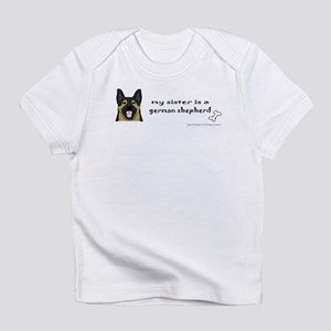 german shepherd Infant T-Shirt