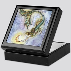 Deep Sea Moon Mermaid Fantasy Art Keepsake Box