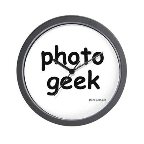 Photo Geek Wall Clock