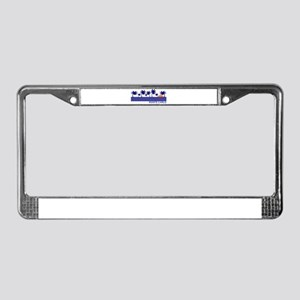 Monte Carlo Blue Sunset License Plate Frame