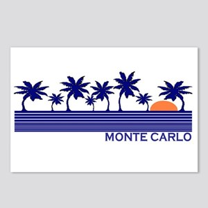 Monte Carlo Blue Sunset Postcards (Package of 8)