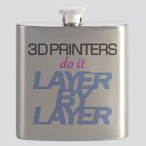 3D Printers do it layer by layer Flask