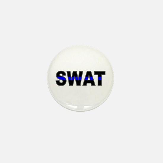 Blue Line SWAT Mini Button