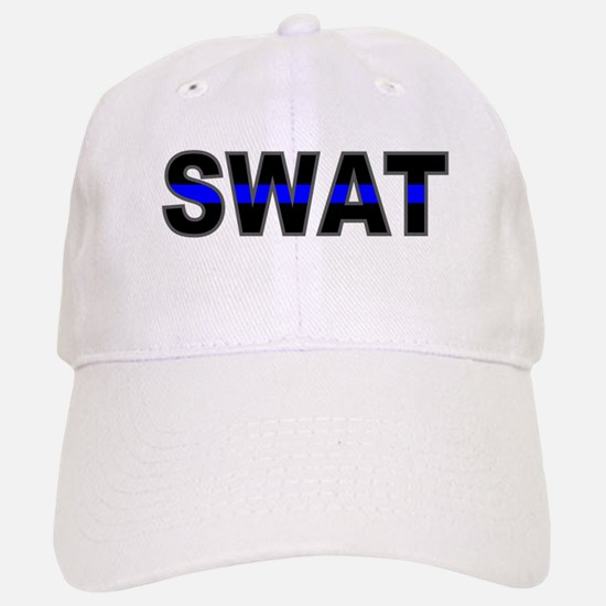 Blue Line SWAT Baseball Baseball Cap
