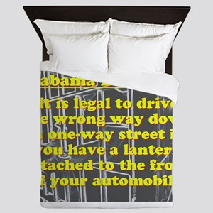 Alabama Dumb Law #4 Queen Duvet