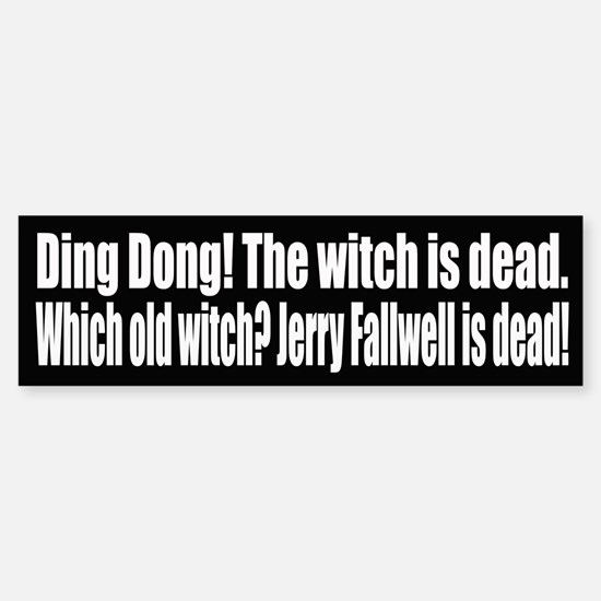 Ding Dong! The witch is dead.