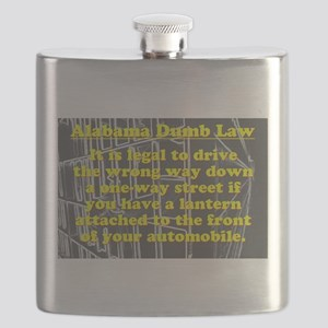 Alabama Dumb Law #4 Flask