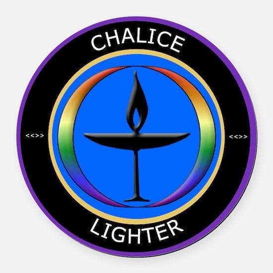 Chalice Round Car Magnet
