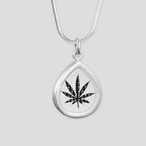 Skull Marijuana Leaf Necklaces