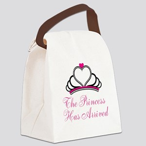 The Princess Has Arrived Canvas Lunch Bag