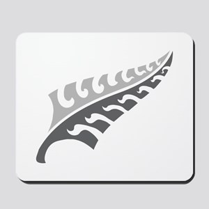 Tattoo silver fern (New Zealand kiwi emblem) Mouse
