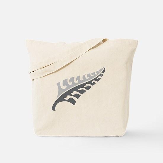 Tattoo silver fern (New Zealand kiwi emblem) Tote