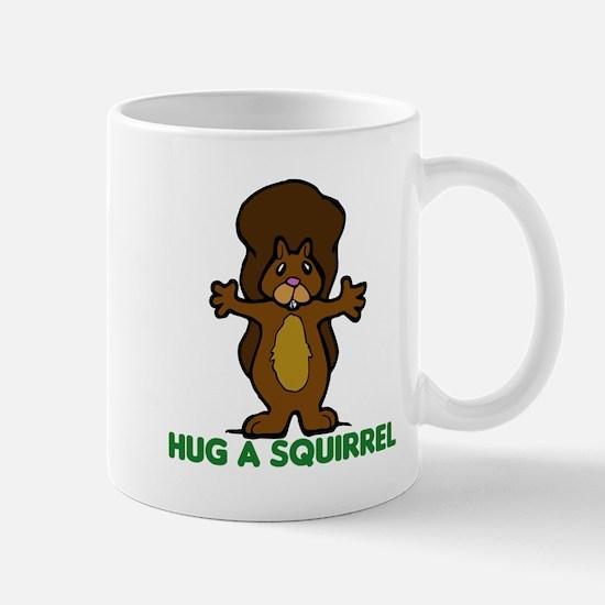 Hug a Squirrel Mug