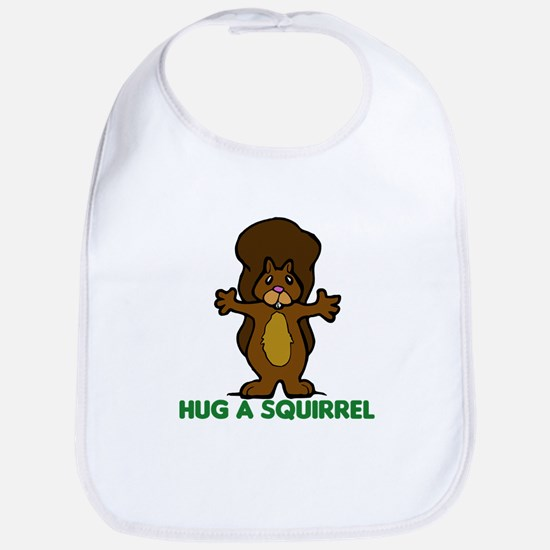 Hug a Squirrel Bib