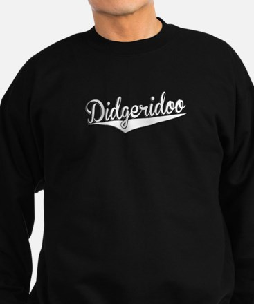 Didgeridoo, Retro, Sweatshirt