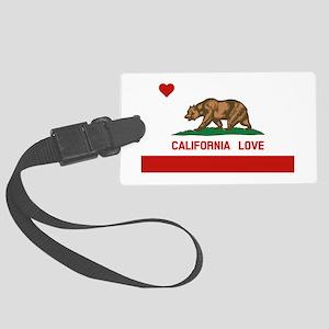 California Love Luggage Tag