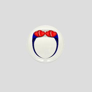 LEATHER PRIDE RING Mini Button