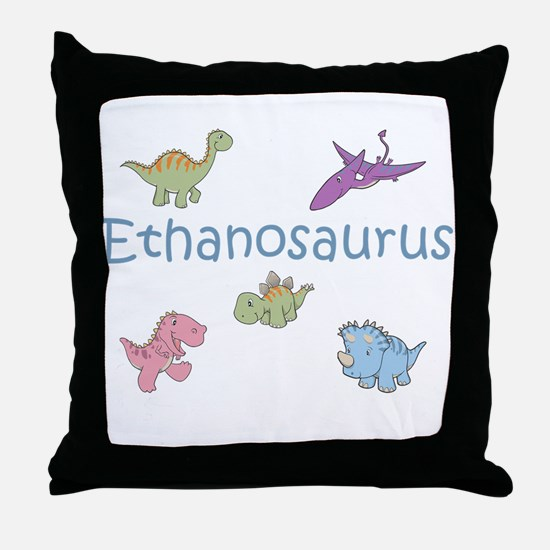 Ethanosaurus Throw Pillow