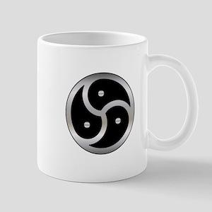 BDSM triskelion Mugs