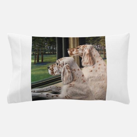 English Setter Puppies.JPG Pillow Case