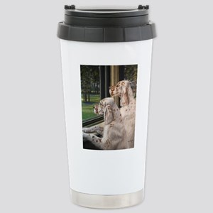 English Setter Puppies Travel Mug