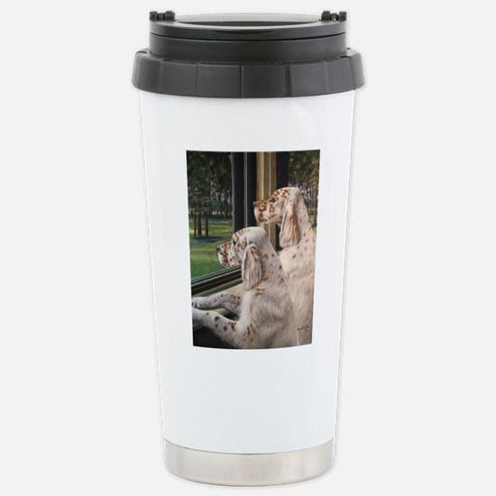English Setter Puppies.JPG Travel Mug