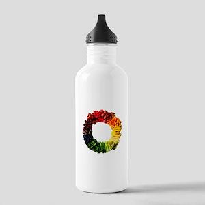 Circle of Fruit n Veg Sports Water Bottle