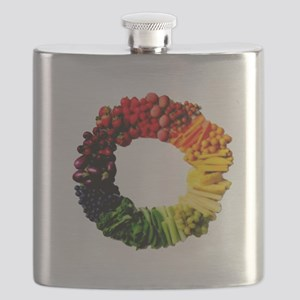 Circle of Fruit n Veg Flask