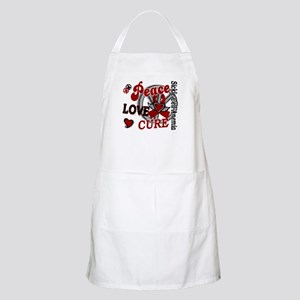 Sickle Cell Anemia PeaceLoveCure2 Apron
