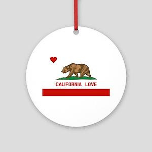 California Love Ornament (Round)