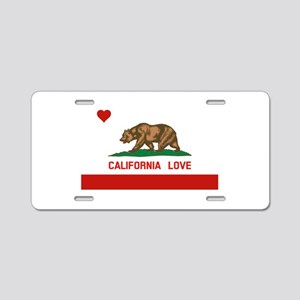 California Love Aluminum License Plate