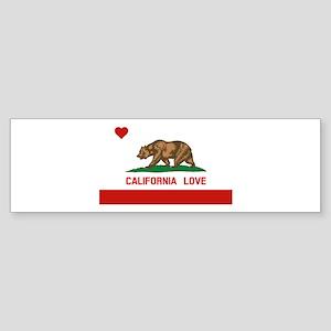 California Love Bumper Sticker