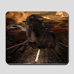 Black Stallion Mousepad