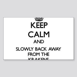 Keep calm and slowly back away from Krakens Sticke
