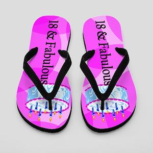 Amazing 18th Flip Flops