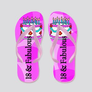 Celebrate 18 Flip Flops