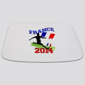 Soccer FRANCE Flag Bathmat