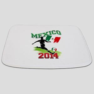 Soccer MEXICO Flag Bathmat
