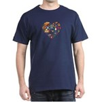 Italy World Cup 2014 Heart Dark T-Shirt