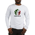 Italy World Cup 2014 Long Sleeve T-Shirt