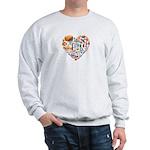 Italy World Cup 2014 Heart Sweatshirt