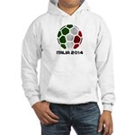 Italy World Cup 2014 Hooded Sweatshirt