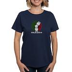 Italy World Cup 2014 Women's Dark T-Shirt