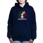 Italy World Cup 2014 Women's Hooded Sweatshirt
