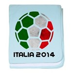 Italy World Cup 2014 baby blanket